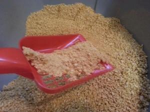 Boswelia Mais Katzenstreu: Klumpfähigkeit