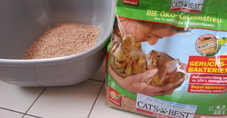 Cat's Best Öko Plus Katzenstreu Test