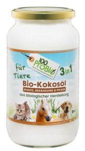 Bio Kokosöl Katze