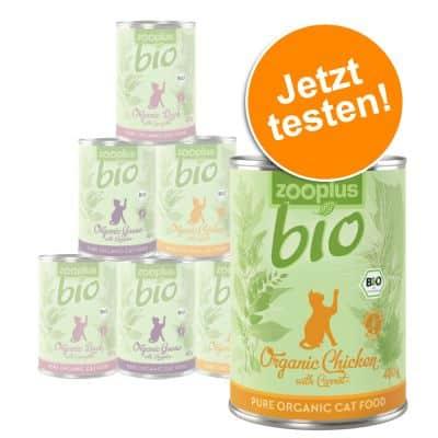 Zooplus Bio Katzenfutter Probierpaket