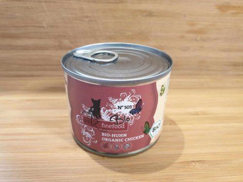 Cat Finefood Bio Huhn Katzenfutter Test