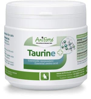 Taurin Katze Supplement Aniforte