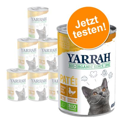 yarrah Katzenfutter Testpaket